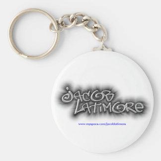Jacob Latimore Signature Logo Keychain