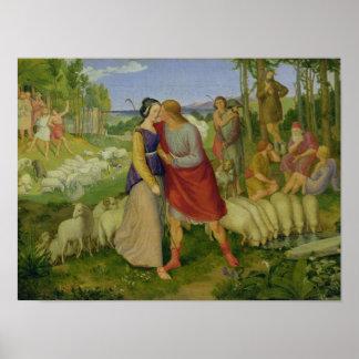 Jacob Meets Rachel, 1827 Poster