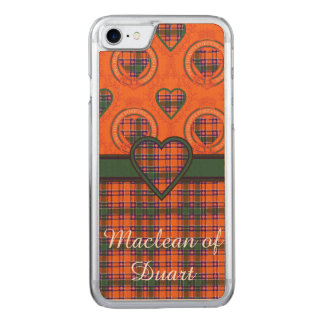 Jacobite clan Plaid Scottish tartan Carved iPhone 7 Case