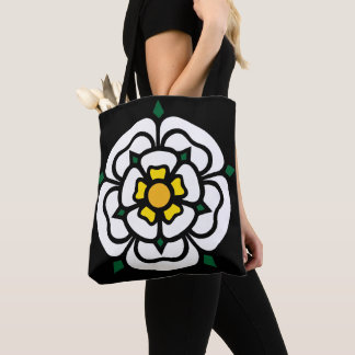 Jacobite - Stuart - York Rose Tote Bag