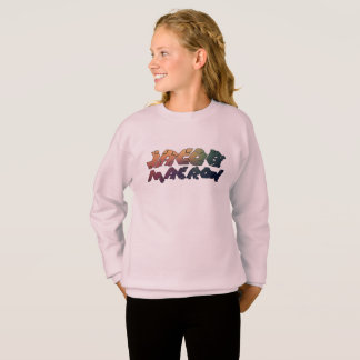 JacobMacron - Girls - pink one - Sweatshirt