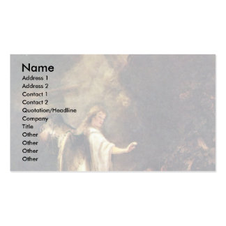 Jacob'S Dream Of The Ladder By Bol Ferdinand Business Card Template
