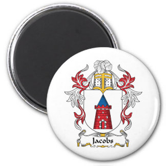 Jacobs Family Crest Magnet