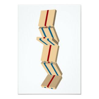 "jacob's ladder 3.5"" x 5"" invitation card"