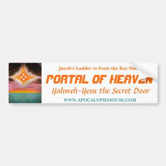 Jacob's Ladder: PORTAL OF HEAVEN Car Bumper Sticker