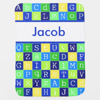 Jacob's Personalized Blanket