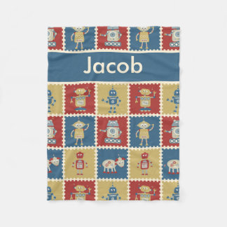 Jacob's Personalized Robot Blanket