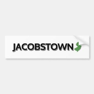Jacobstown, New Jersey Bumper Sticker