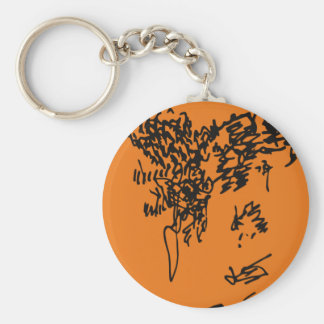 Jacque in May Keychain