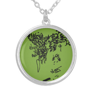 Jacque in May Silver Plated Necklace