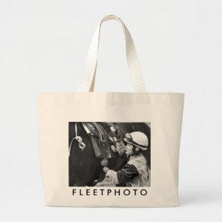 Jacqueline Davis Large Tote Bag