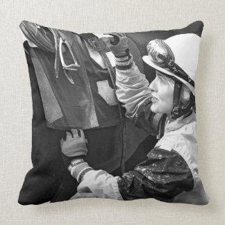 Jacqueline Davis Throw Pillow