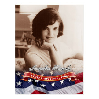 Jacqueline Kennedy, First Lady of the U.S. Postcard