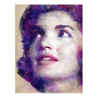 Jacqueline Kennedy Onassis Postcard