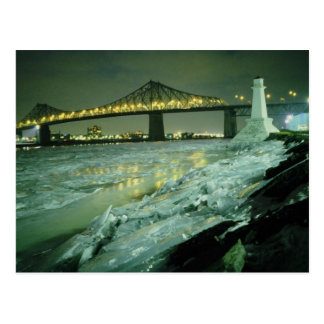Jacques Cartier Bridge, Montreal, Quebec, Canada Postcard