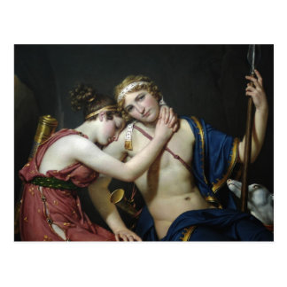 Jacques David- Farewell of Telemachus and Eucharis Postcard