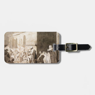 Jacques David- Homer Reciting his Verses to Greeks Luggage Tag
