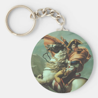 Jacques-David- Napoleon Crossing the Alps Keychain