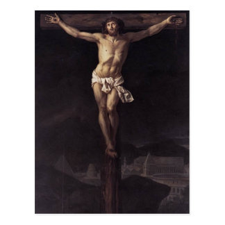 Jacques-Louis David- Christ on the Cross Postcard