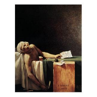 Jacques-Louis David- The Death of Marat Postcard