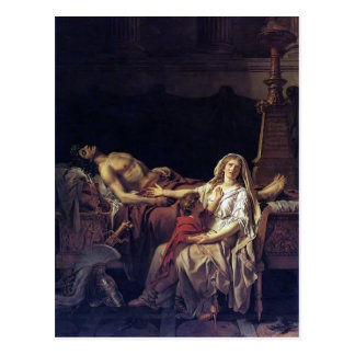Jacques-Louis David- The Pain of Andromache Postcard