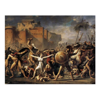 Jacques-Louis David- The Sabine Women Postcard