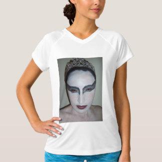 Jacqui B Black Swan Ladies Performance Micro-Fiber T-Shirt
