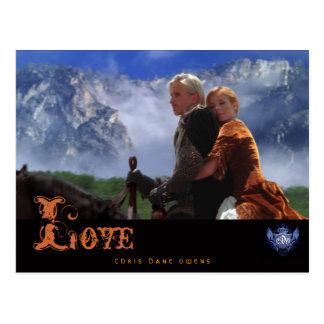 JADE & ARRA  -LOVE-Post Card Postcard
