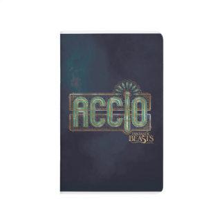 Jade Art Deco Accio Spell Graphic Journal