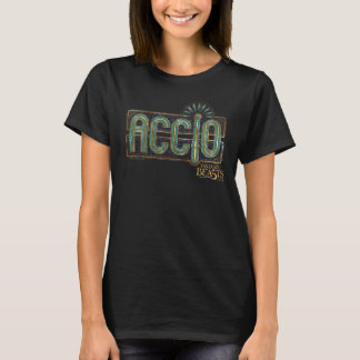 Jade Art Deco Accio Spell Graphic T-Shirt