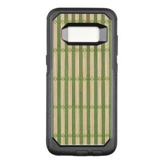 Jade Bamboo Mat Texture Look OtterBox Commuter Samsung Galaxy S8 Case
