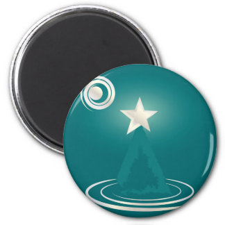 Jade Christmas dream 2 Inch Round Magnet