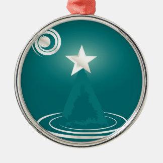 Jade Christmas dream Metal Ornament