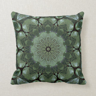 Jade Garden. Throw Pillow