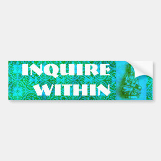 Jade Kwan Yin Bumper Sticker