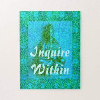 Jade Kwan Yin Jigsaw Puzzle