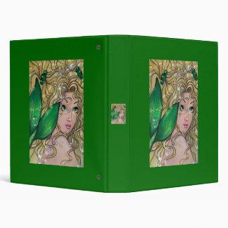 """""""Jade Mermaid"""" fairy fantasy art BINDER by ronne"""