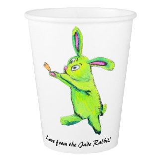 Jade Rabbit Paper Cup