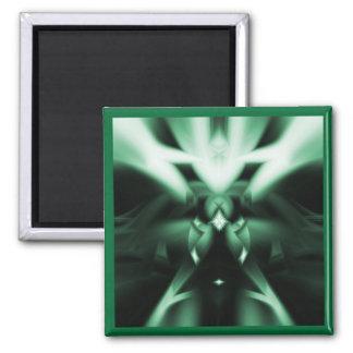 Jade Square Magnet