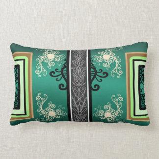 Jade Surf Lumbar Pillow