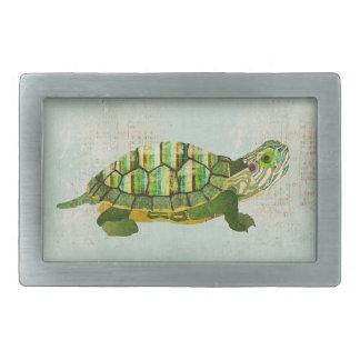 Jade Turtle Belt Buckle