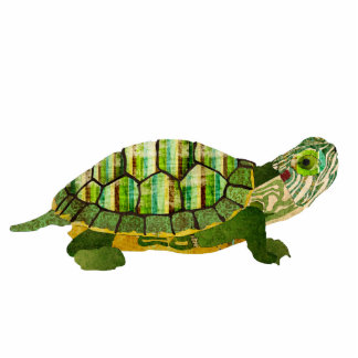 Jade Turtle Sculpture Standing Photo Sculpture