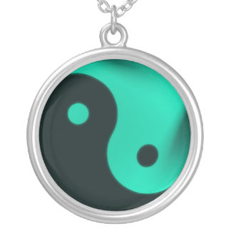 Jade yin yang necklace