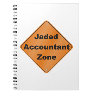 Jaded Accountant Zone Notebooks
