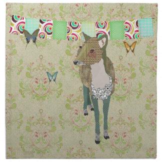 Jaded Deer American MoJo Napk Printed Napkin