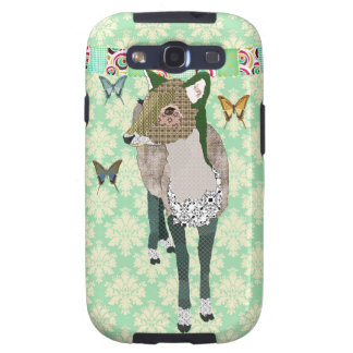 Jaded Deer Green Case Galaxy S3 Cover