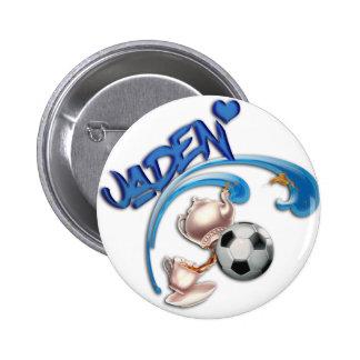 Jaden 2 Inch Round Button