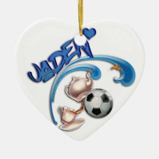 Jaden Ceramic Heart Ornament