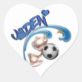 Jaden Heart Sticker