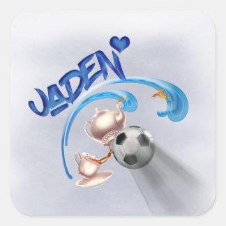 Jaden Square Sticker